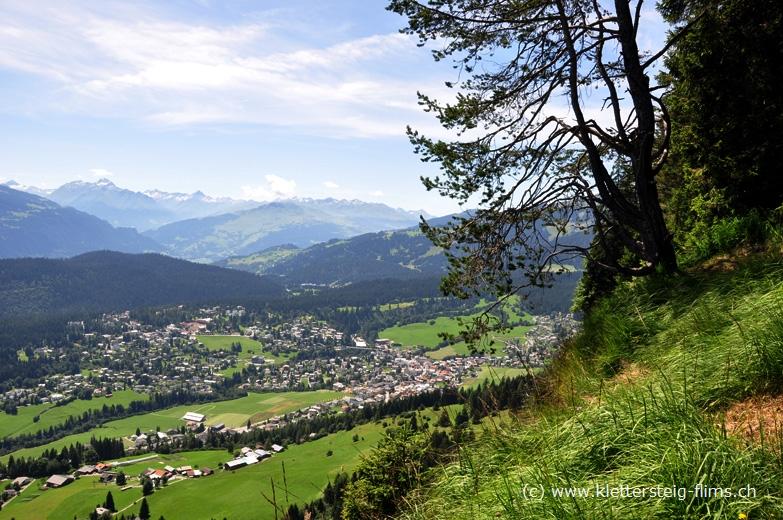 Klettersteig Flims : Klettersteig flims hochebene pinut