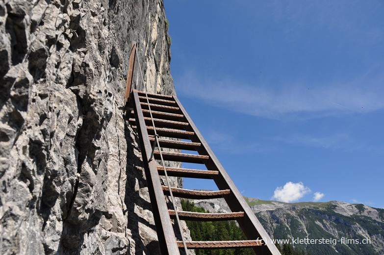 Klettersteig Flimserstein : Murmeltiere auf dem flimserstein