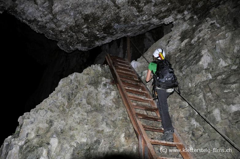 Klettersteig Pinut : Klettersteig pinut bei vollmond